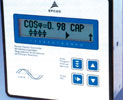 Figure 4. The control panel of the PFC BR6000-T has a text-driven intuitive display that makes it very easy to use